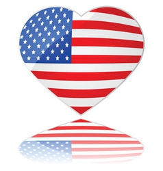 love usa vector image