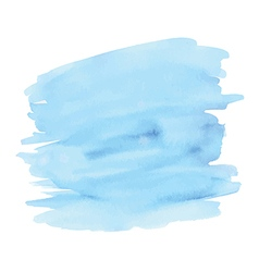 Blue abstract watercolor background vector