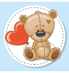 Drawing Teddy vector image vector image