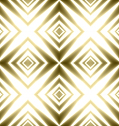 Golden crosses striped festive shining vector image vector image