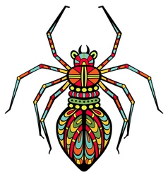 Fancy spider vector