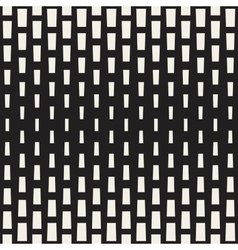 Seamless black and white rectangle halftone vector