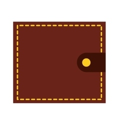 Wallet money isolated icon design vector