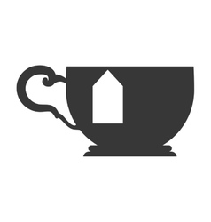 tea cup icon Tea design graphic vector image