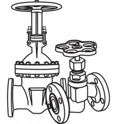 valve vector image vector image