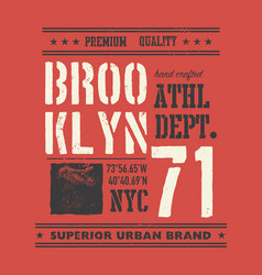 vintage urban typography with tyrannosaurus head vector image