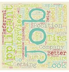 your job is to find a job dlvy nicheblower com vector image