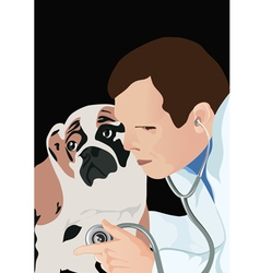 Veterinarian vector