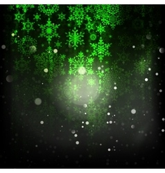 Holiday green abstract background eps 10 vector