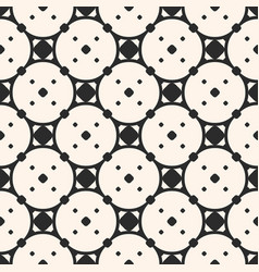 ornament pattern geometric monochrome texture vector image vector image