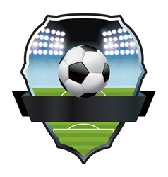 Soccer Football Badge Emblem vector image vector image