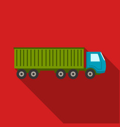 truck delivery icon of for web vector image