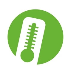 Thermometer measure temperature icon vector