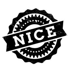 Nice stamp rubber grunge vector image