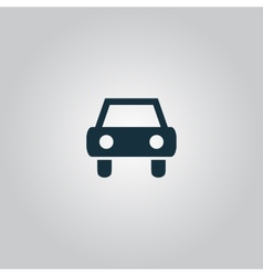 Old car icon vector