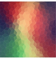 Two-dimensional geometric colorful background vector