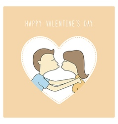 Happy valentine s day card18 vector