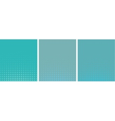 Graphical blue gradient in halftone style vector
