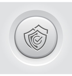 Multilevel security icon flat design vector