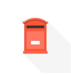 Post box icon vector