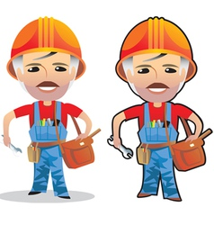 Profession working man vector