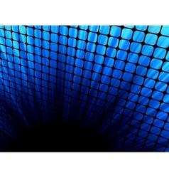 3d mosaic vector image