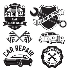 car repair vector image vector image