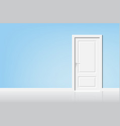 open the door to the light vector image vector image
