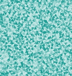 Turquoise triangle abstract backdrop vector image vector image