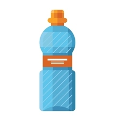 Sports water bottle vector