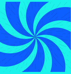Blue and light-blue twirl background with scratch vector