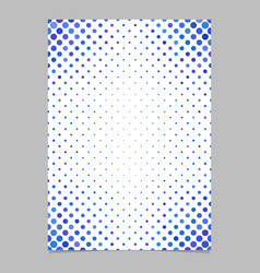 Abstract circle pattern page background template vector