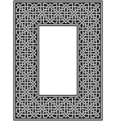 celtic border vector image