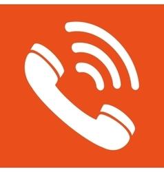 telephone service design vector image