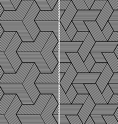 Two Seamless Patterns vector image vector image