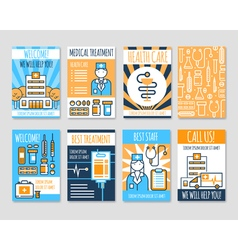 1607i121016sm005c11medical cards banners vector