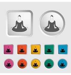 Yoga 2 vector image