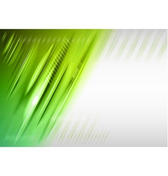 Abstract lines green vector