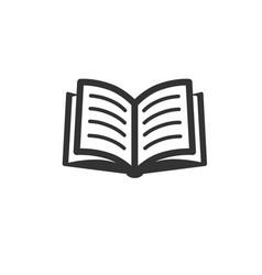 Book icon eps vector