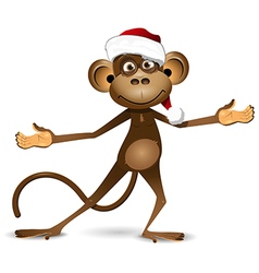 New Year of the Monkey vector image