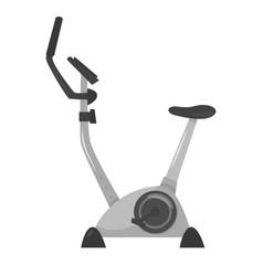 Exercise bike for sport vector