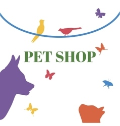 Pets logo template vector