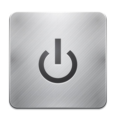 Power app icon vector image vector image