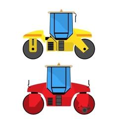 Road rollers vector