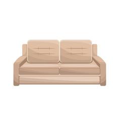 sofa furniture comfort image vector image vector image
