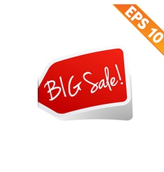 Sticker tag - - eps10 vector