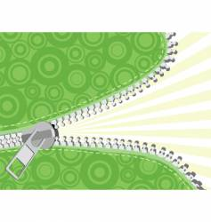 zipper no gradient vector image vector image