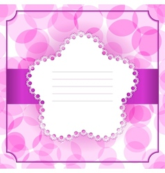 Greeting invitation card vector
