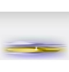 Abstract shape grey gold vector