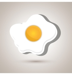 Fried eggs design vector